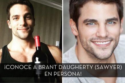 ¿Quieres conocer a Brant Daugherty (Luke Sawyer) en persona?