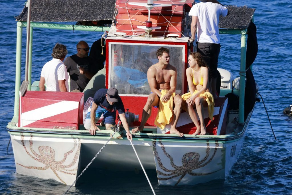 EXCLUSIVE: ** PREMIUM EXCLUSIVE RATES APPLY** Filming Fifty Shades Freed