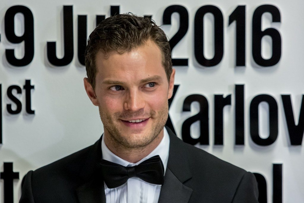 KARLOVY VARY, CZECH REPUBLIC - JULY 01: Actor Jamie Dornan poses for photographers at the opening ceremony of the 51st Karlovy Vary International Film Festival (KVIFF) on July 1, 2016 in Karlovy Vary, Czech Republic. (Photo by Matej Divizna/Getty Images)