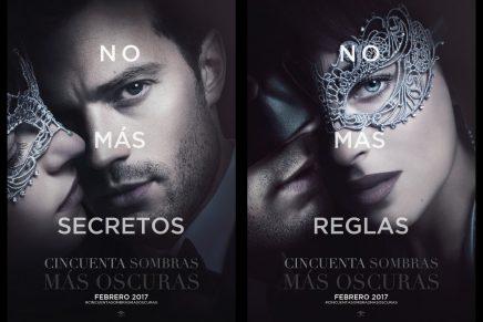 Nuevos posters de 50 Sombras Más Oscuras y recopilación de nuevas escenas