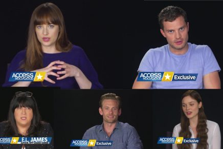 Entrevista detrás de las cámaras a los actores de 50 Sombras Más Oscuras