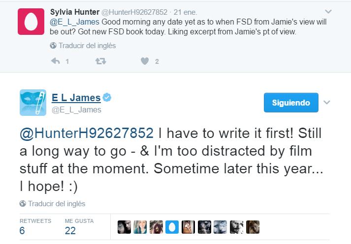 EL James nuevos libros