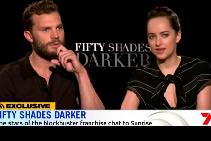 Nueva entrevista a Jamie y Dakota en el programa Sunrise 7 (Australia)