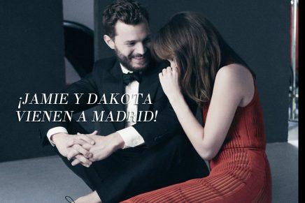 SÚPER NOTICIA: ¡Jamie y Dakota vendrán a Madrid a promocionar 50 Sombras Más Oscuras!