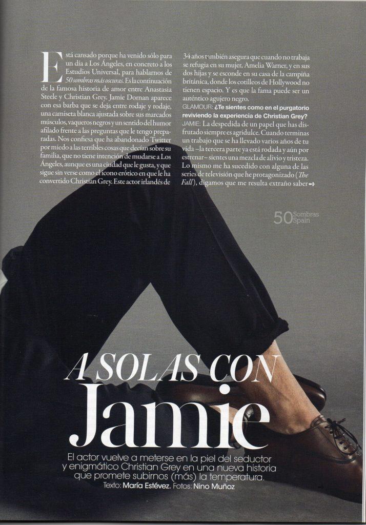 Jamie Dornan Gamour Feb 17 2