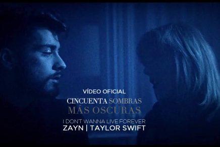 Vídeoclip oficial de»I Don't Wanna Live Forever», canción de la BSO 50 Sombras Más Oscuras