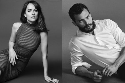 ¡Nuevas imágenes promocionales de Jamie Dornan y Dakota Johnson!