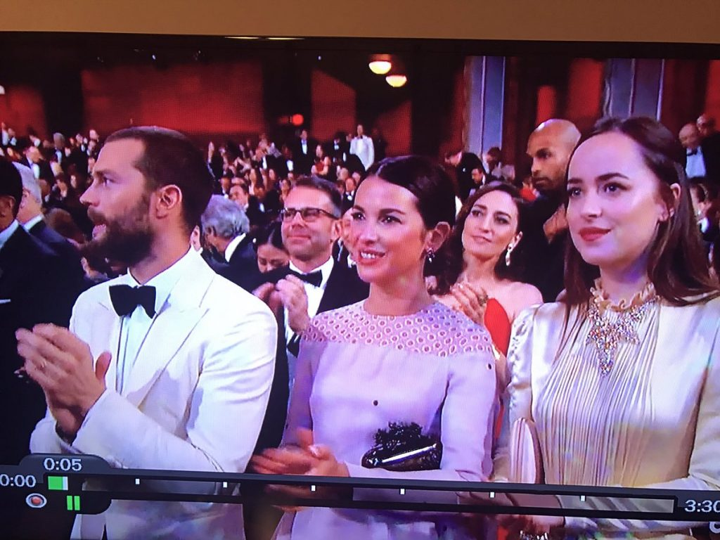 Jamie Dornan Dakota Johnson Oscars 2017 1