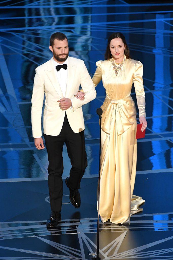 Jamie Dornan Dakota Johnson Oscars 2017 3