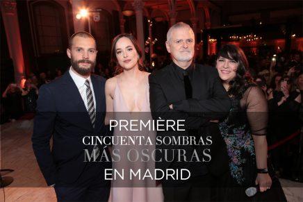 Toda la información sobre la Première de 50 Sombras Más Oscuras en Madrid