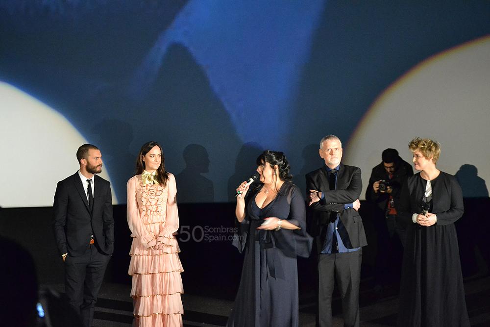 Fotos exclusivas de la presentaci n de la premi re de 50 for Sala 25 kinepolis madrid