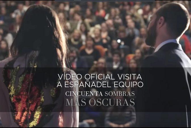 Vídeo oficial de resumen de la visita a España del equipo de la película 50 Sombras Más Oscuras