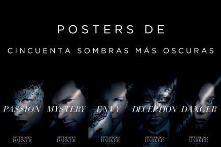 Nuevos posters de Cincuenta Sombras Más Oscuras