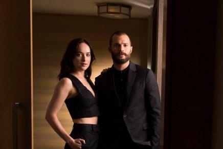 Imágenes promocionales de Jamie Dornan y Dakota Johnson para USA Today