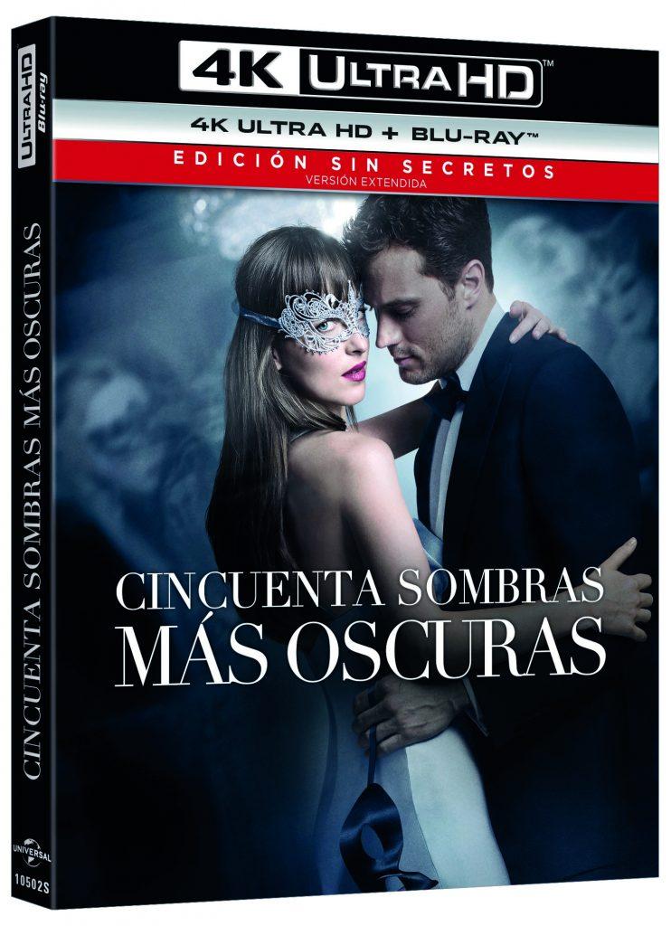 CINCUENTA SOMBRAS MAS OSCURAS (4K UHD + BD) - VTA - 8414533105026