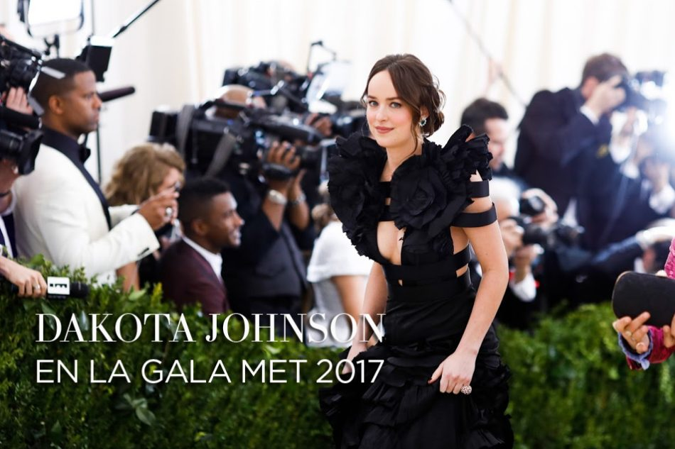 Fotos de Dakota Johnson en la Gala MET 2017