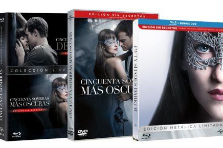 EXCLUSIVA: Carátulas y TODAS las ediciones de 50 Sombras Más Oscuras