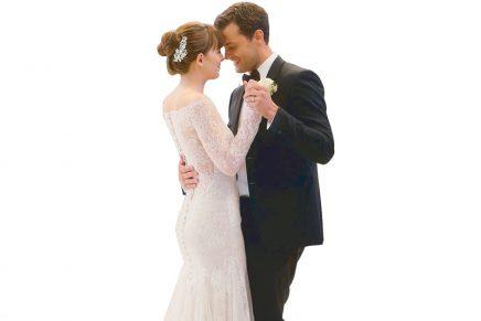 Monique Lhuillier habla sobre el vestido de novia que ha diseñado para Anastasia en Cincuenta Sombras Liberadas